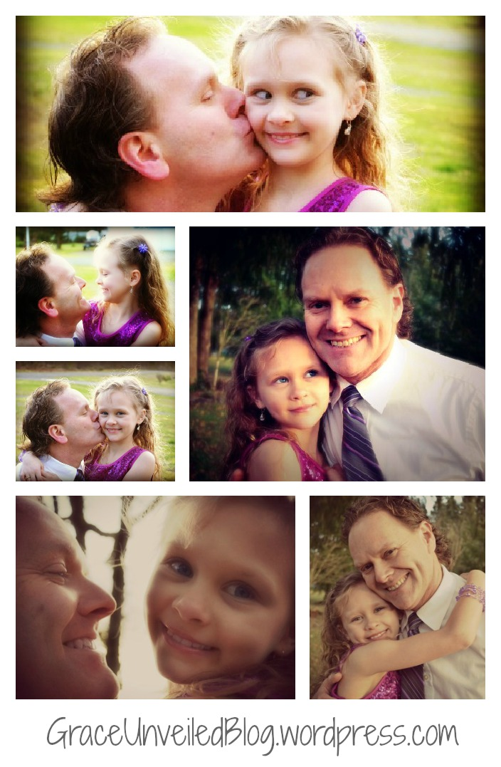 charis and daddy collage 2