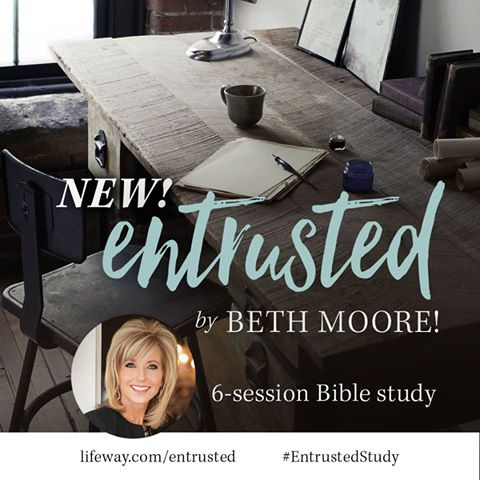 "Online Bible study, Beth Moore's ""Entrusted"" a study of 2 Timothy 
